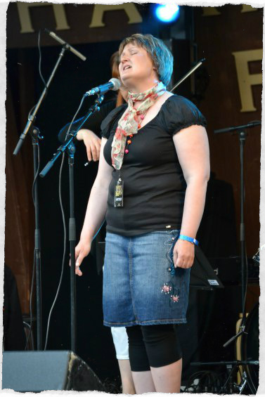 Jaana Haapavedellä 2012. Kuva: Hannu Mäkiö