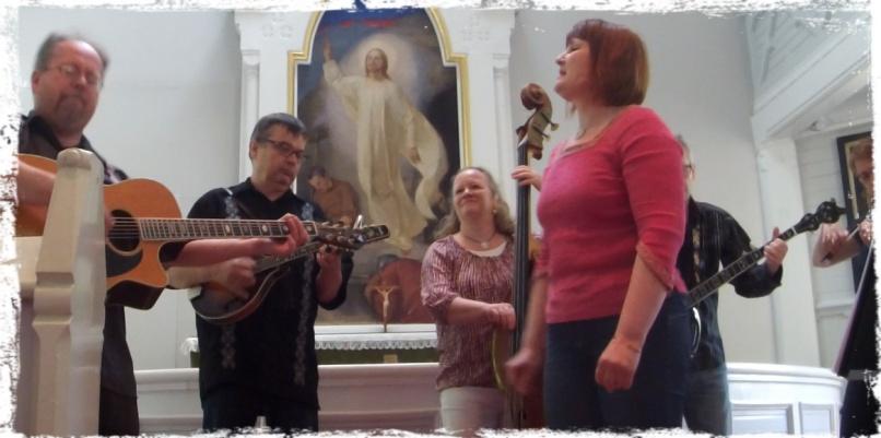 Ruotsinpyhtään kirkossa kesäkuussa 2015